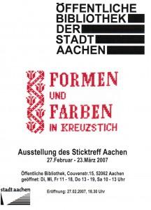 2007-02-27 Plakat Ausstellung